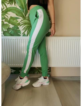 Долница с висока талия *green*